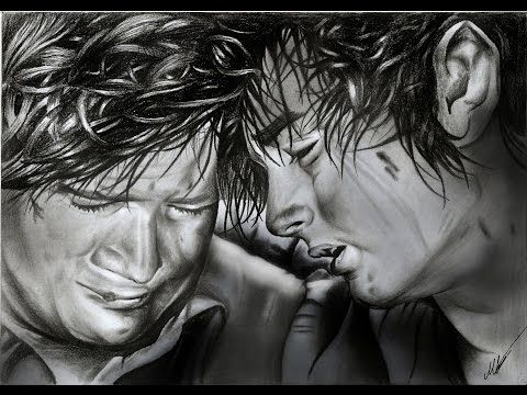 Frodo and Sam lotr (Elijah Wood Sean Astin) pencil drawing - YouTube