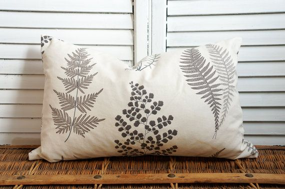 Sanderson Angel Fern pillow covers by OliverandRust on Etsy