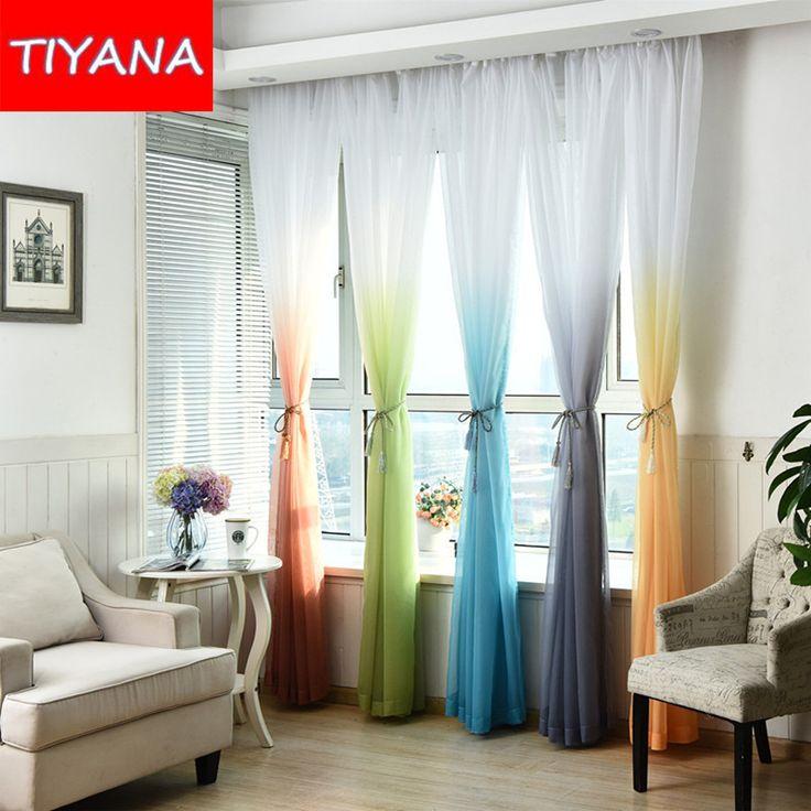 oltre 25 fantastiche idee su tende della finestra della camera da ... - Tende Per Un Salone Moderno 2