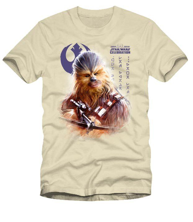 Chewie shirt - Star Wars Celebration