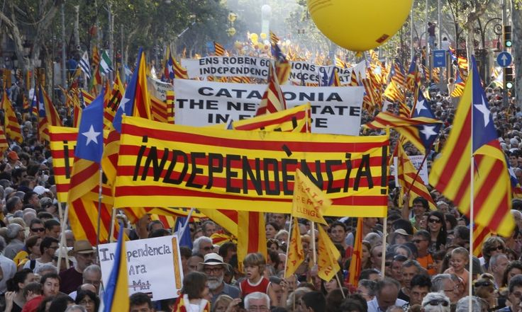 """'Scotland Got its Referendum, but all Catalonia Gets is Threats and Repression' - ibtimes.co.uk, Marc Vargas, September 26, 2014. """"In a decisive week for the short-term future of Catalan independence, IBTimes UK spoke with Carme Forcadell, president of the Catalan National Assembly [ANC], the organisation behind the mass pro-independence rallies that took millions of people to the streets asking for the right to vote for independence on 11 September."""""""