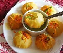 The delicious Pani Puri