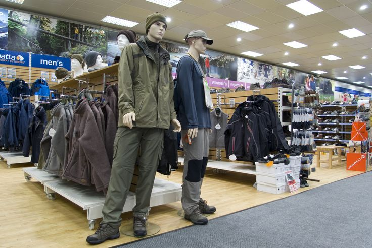 With a bright, airy clothing display you can dress for the great outdoors in the Towsure Sheffield outdoor leisure superstore