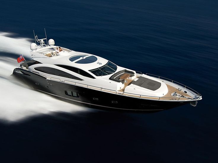 Predator 92 yacht by Sunseeker | Seatech Marine Products / Daily Watermakers
