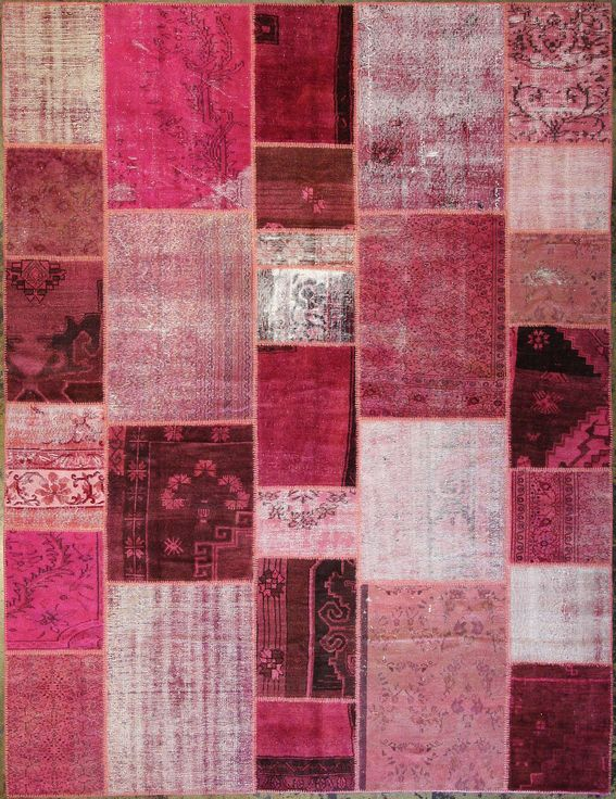Vintage pink tapestry from Amadi Carpets