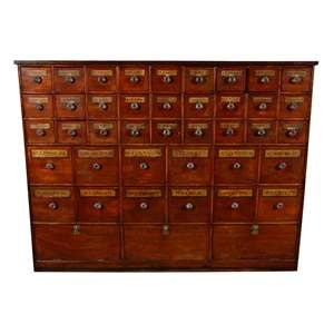 apothecary cabinet. I am obsessed with these. Would love to put treasures in all the drawers.