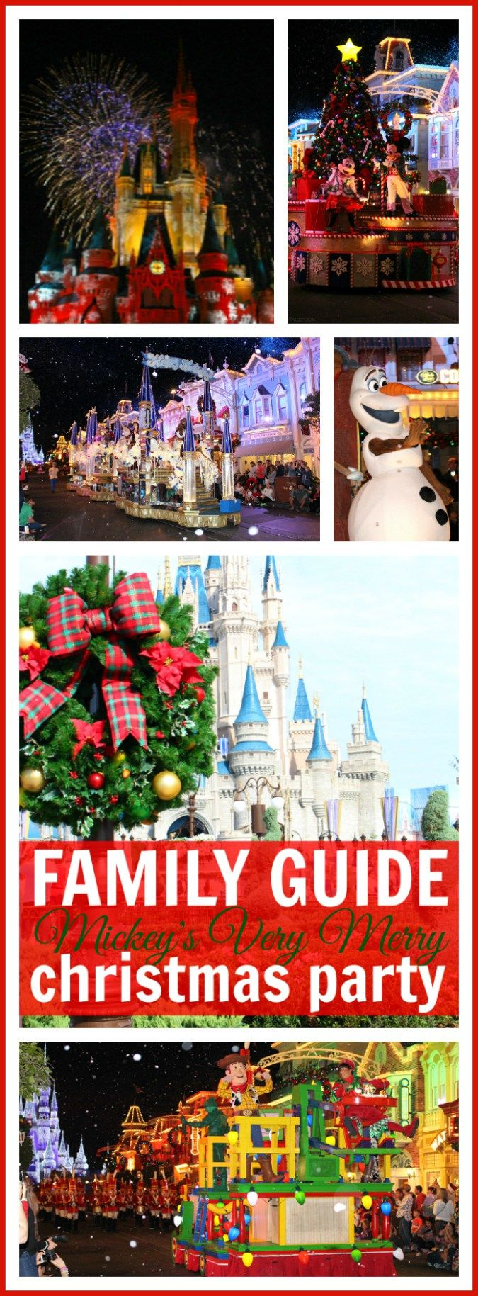 Family Guide to Mickey's Very Merry Christmas Party #VeryMerry - 10 BEST tips for visiting Walt Disney World during the holidays (AD) Raising Whasians