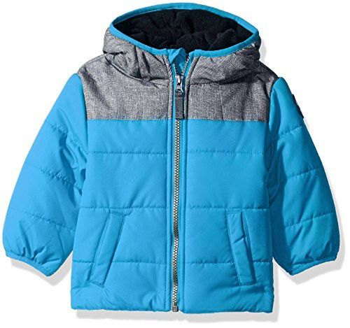 6cfdbc9bc Carter s Baby Boys Puffer Jacket Coat with Soft Fabric Yolk