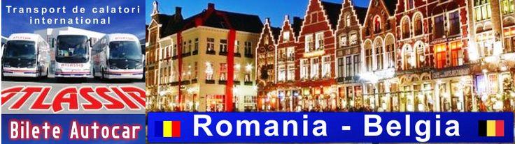 Bilete de Autocar Romania Belgia, Rezervari Bilete de Autocar Belgia