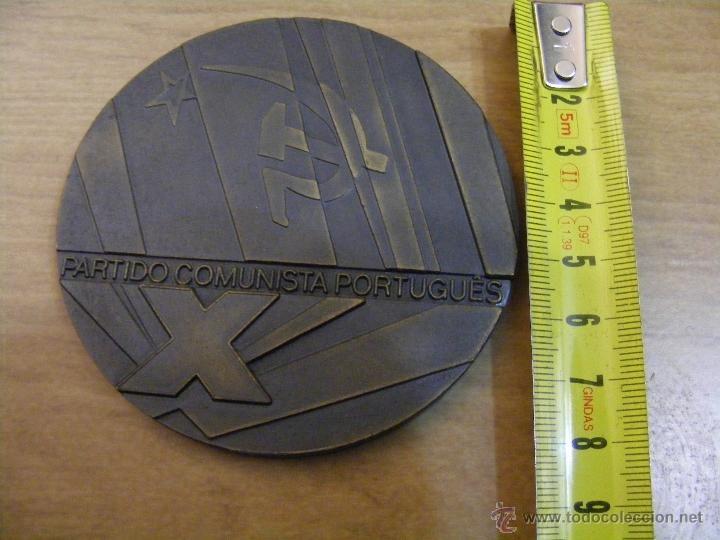 Medalla X congresso PCP Partido Comunista POrtuguês - 1983