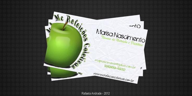 MC Refeições Coletivas, projeto impresso.