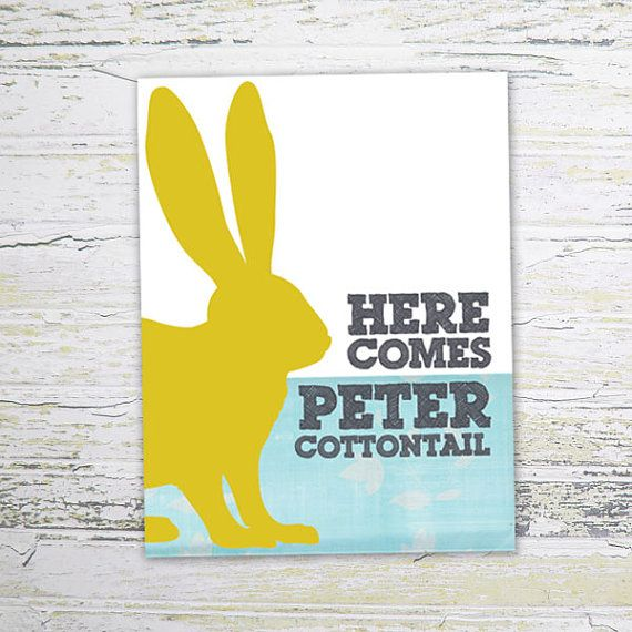 Great Easter Bunny Greeting Card ... very original designs!