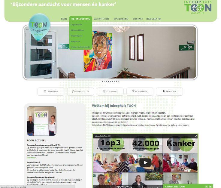 Website Inloophuis TOON