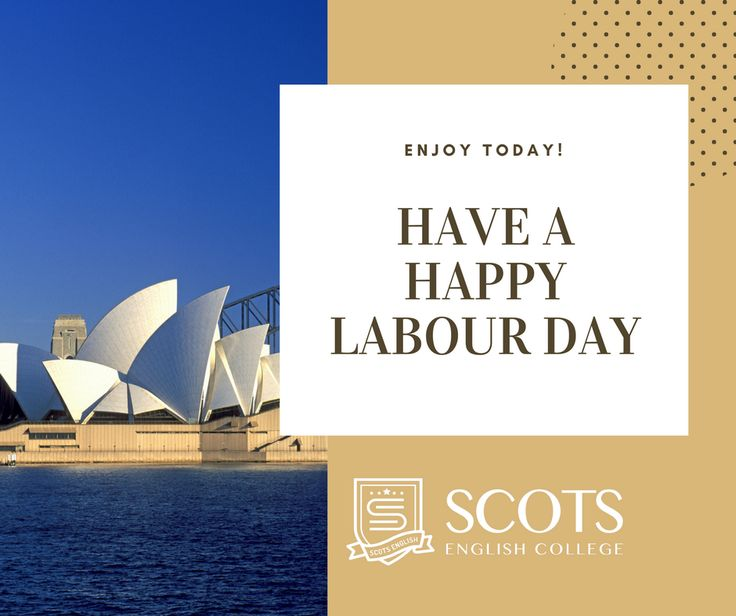Happy Labour Day (2nd of October)! Hope you're having a wonderful day.   #LabourDay #NSW #Sydney