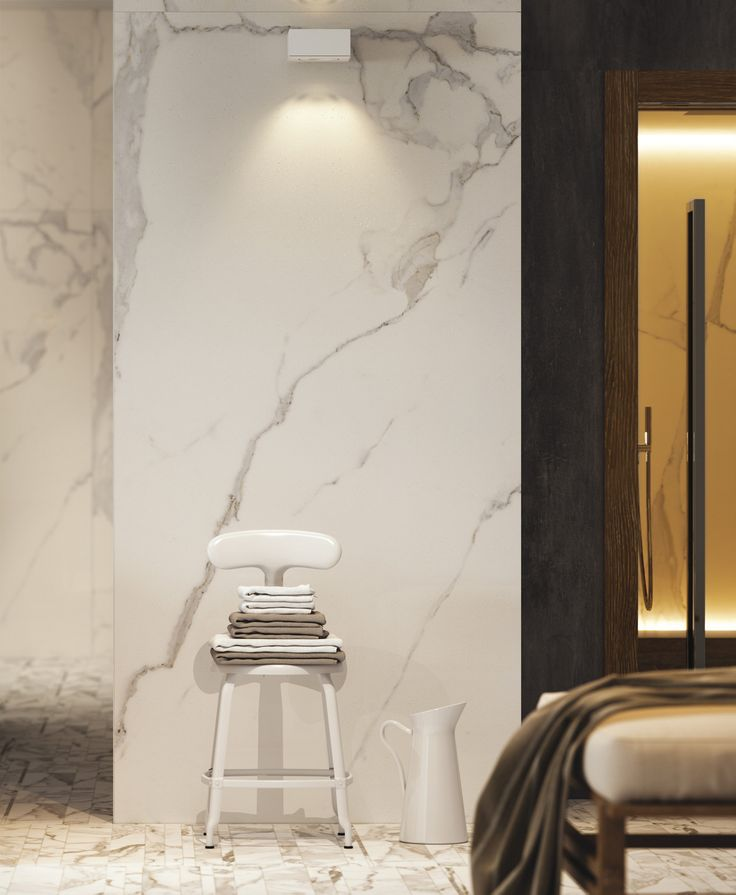 INDOOR PORCELAIN STONEWARE WALL TILES WITH MARBLE EFFECT INFINITY COLLECTION BY CERAMICA FONDOVALLE