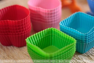 silicon cupcake liners