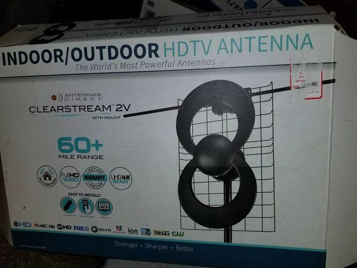 Antennas Direct C2V-J3 ClearStream 2-V Long Range UHF/VHF Outdoor DTV Antenna