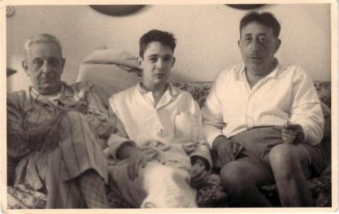 Giuseppe Tomasi di Lampedusa, Gioacchino Lanza Tomasi, Lucio Piccolo