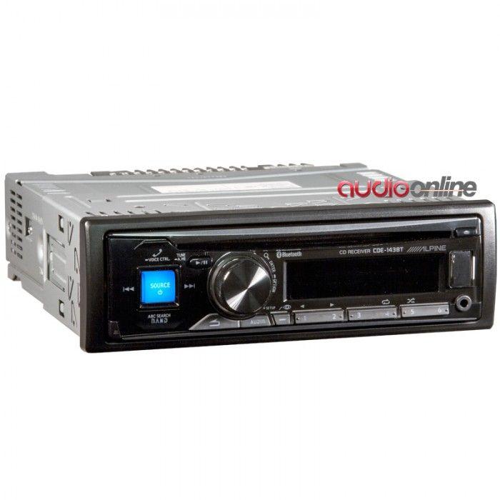 Alpine CDE-143BT | Audioonline | La Tienda #1 de Car Audio