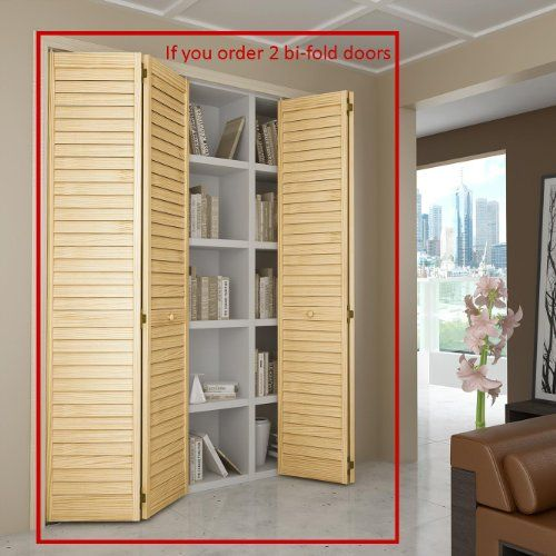 Bi-fold Door, Louver Louver Plantation 1x36x80