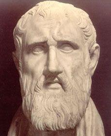 Zenón de Elea (Elea 490-430 a.C.), filósofo griego discípulo de Parménides de Elea. No estableció ni conformó ninguna doctrina positiva de su propia mano, en tanto que todo lo que defiende lo toma de Parménides, sino que se limitó a atacar todo planteamiento que no parta de las tesis eleáticas. Como su maestro, tuvo probablemente una gran actividad política: el mismo Laercio afirma que Zenón apoyaba el derrocamiento del tirano eleata que gobernaba, bajo peligro de muerte.