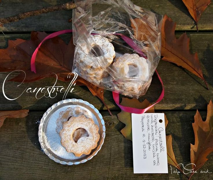 DIY Homemadegift Christmas Biscuits Tea Time http://valycakeand.blogspot.it/2013/12/canestrelli.html Valy Cake and...: Canestrelli