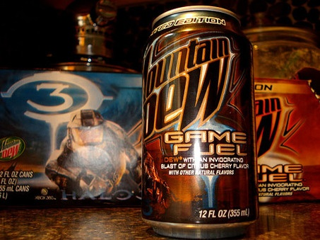 mountain dew game fuel for sale