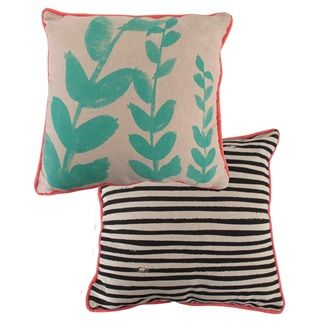 OTHER - Floragraphica Leaf Cushion - Kerridge Linens & More