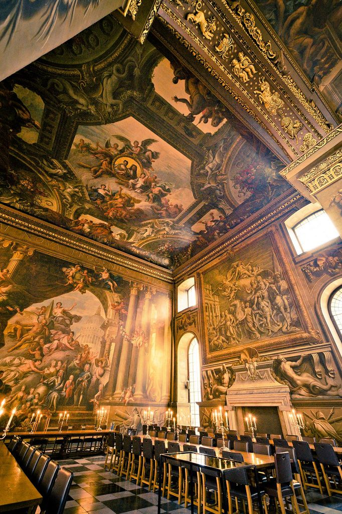 Painted Hall, Old Royal Naval College, Greenwich, London
