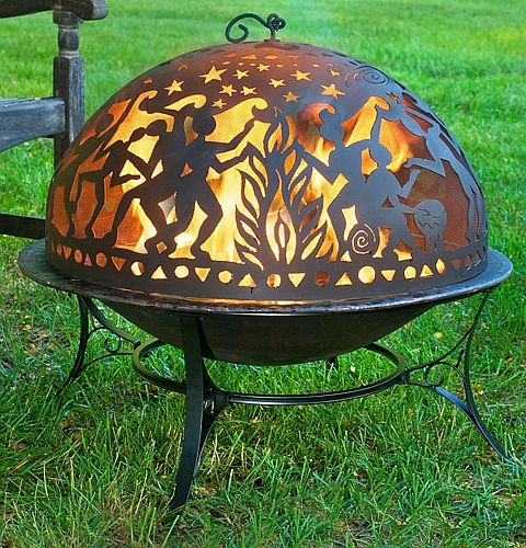 """oooh! I love this pit! """"Moon Party"""" Fire Bowl -  backyardcity.com"""
