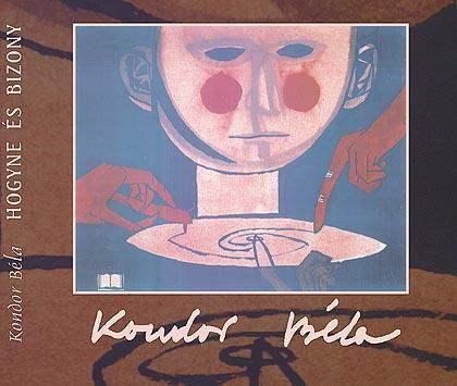 Kondor Béla - Lemezborító fej / Head of record sleeve (1960s)