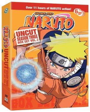 Naruto DVD Season 3 Box Set 2 Uncut