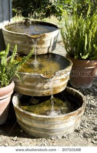 stock-photo-old-wooden-barrel-style-water-fountain-20710168