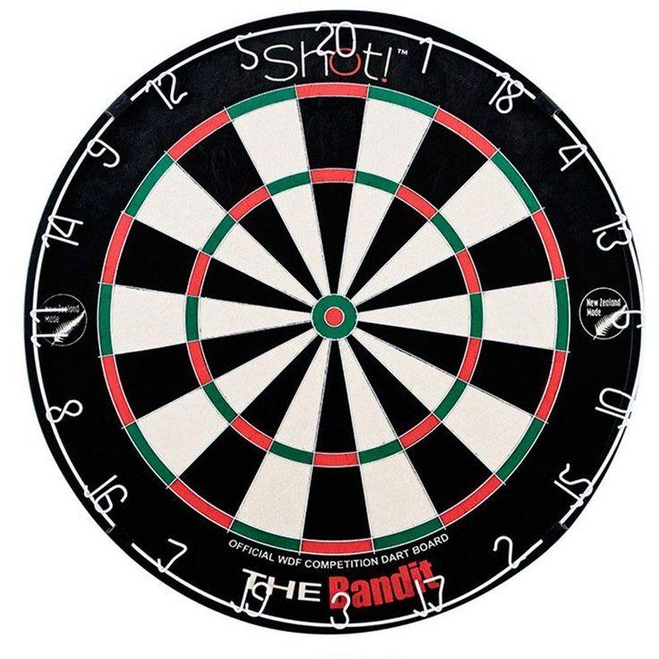 Shot Bandit Bristle Dartboard - SB3001
