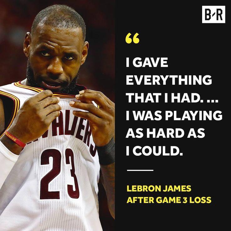 LeBron James quote.
