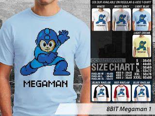 OMAH STORE: 8 BIT Megaman 1
