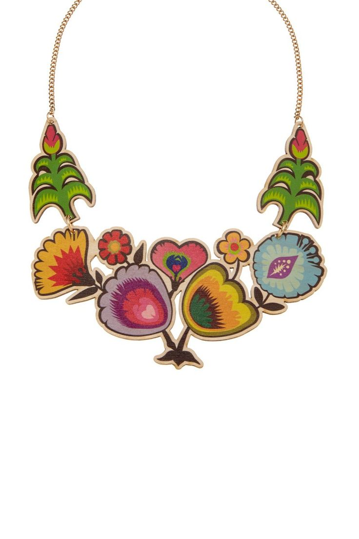 Folk Art Statement Necklace, £75: http://www.tattydevine.com/shop/collections/contemporary/folk-art-statement-necklace.html