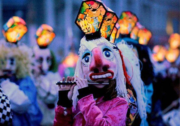 Basel Morgestraich  carnival - Germany