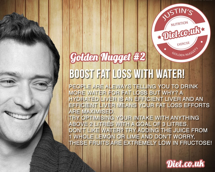 Justin's Tip #2 Skyrocket fat loss results with water! Diet.co.uk. Low Carb, Justin Lord, Fat Loss, Weight Loss, Health Tips, Expert Help #DietUK