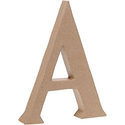 Good website to buy alphabet craft letters for yarn-wrapped letters