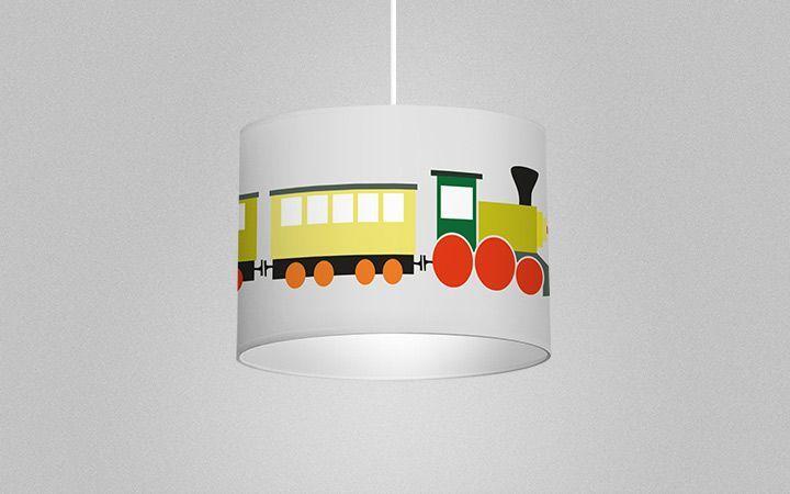 Leuchte Trains - Designer Tapeten DecorPlay