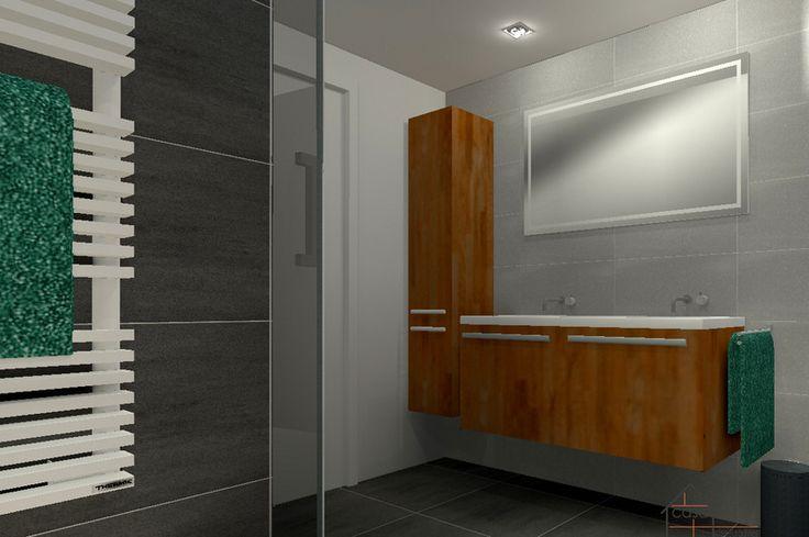 3D-Visualisatie Badkamer advies - Su Casa Interieuradvies