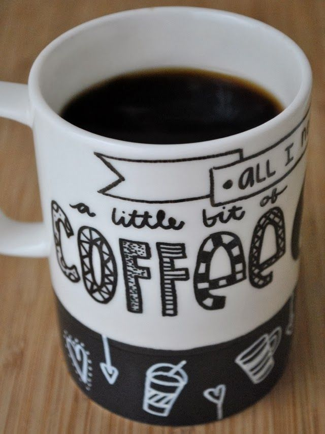 Simply B Create Your Own Coffee Mug Crafts Pinterest