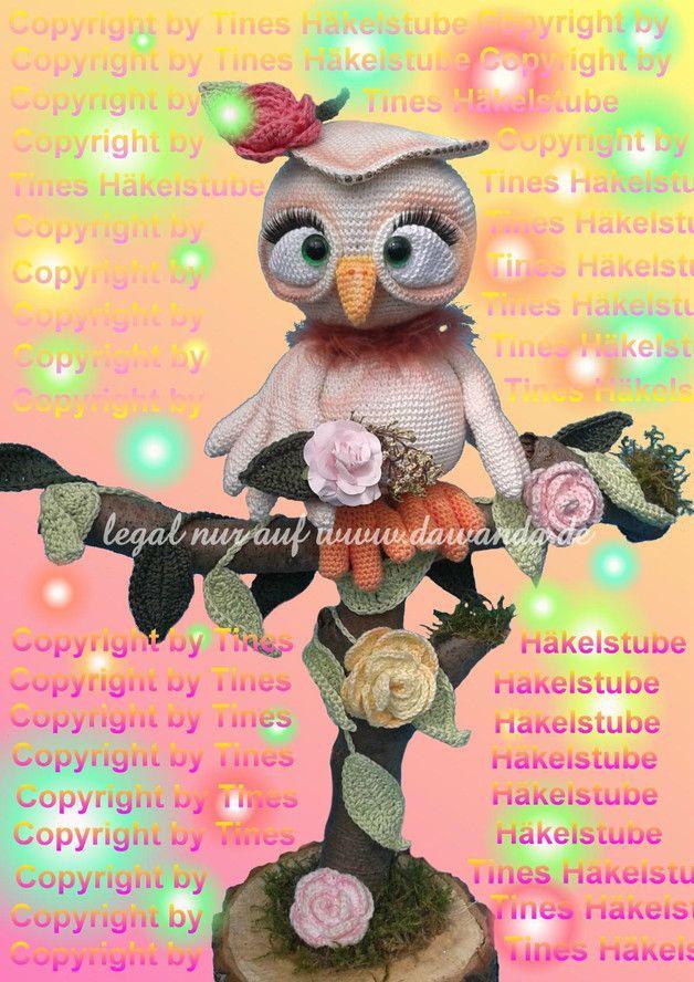 287 besten amigurumi eulen Bilder auf Pinterest | Amigurumi, Eulen ...