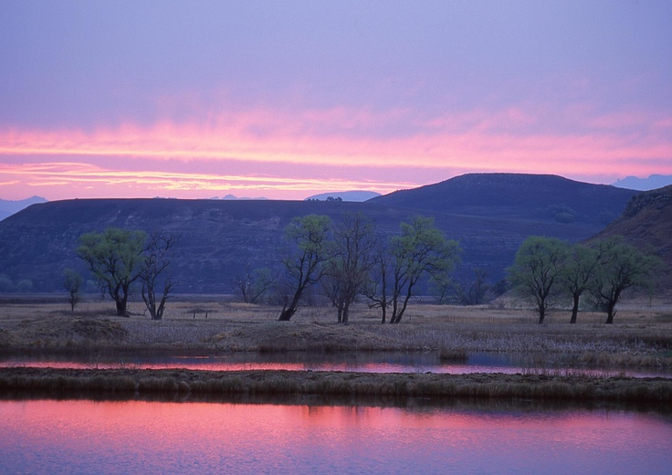 Soft sunset in Underberg! South Africa