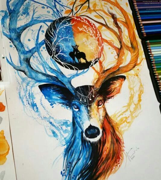 Ideas Watercolor Pencils By Finland Artist Jonna Scandy Girl