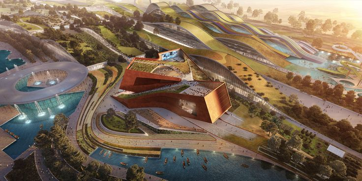 Gallery of UNStudio Wins France's Largest Private Architecture Competition for Cultural Cinema Center in EuropaCity - 1
