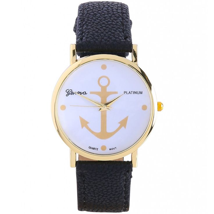 Anker horloge Anchor watch http://www.loavies.com/accessoires/alle-accesoires/pink-aztec-watch-1515.html
