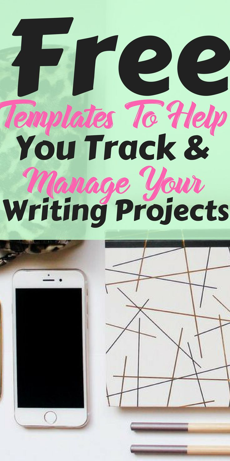 Looking to improve how you track & manage your writing projects? Here are some free templates you can use.