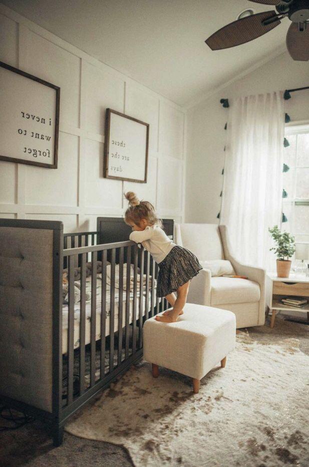 Our Neutral Baby Boy Nursery Turned Out Perfectly Laurenstewartdc Mommyandme Momblog Maternity Baby Room Neutral Luxury Baby Crib Farmhouse Nursery Decor